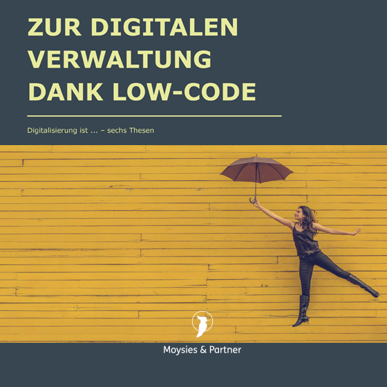 Vorschaubild Whitepaper Digitale Verwaltung dank Low Code